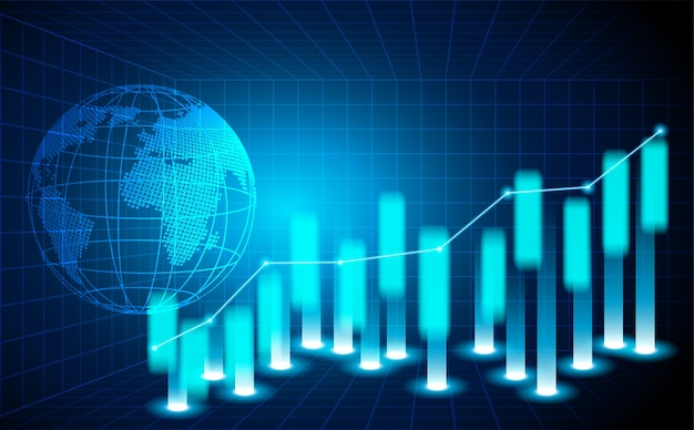 Mercado de ações e troca de mundo.