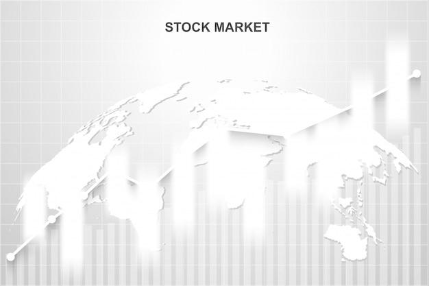 Mercado de ações e troca de mundo