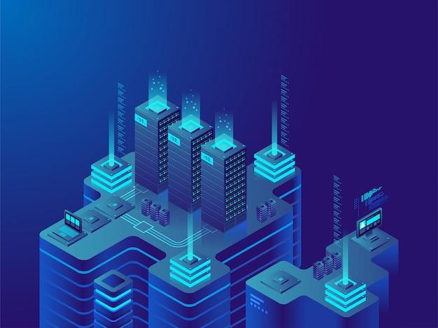 Mercado de data center ou criptomoeda.
