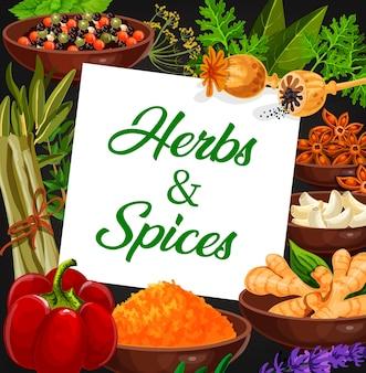 Mercado de ervas e especiarias