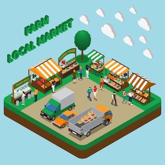 Mercado de produtos agrícolas