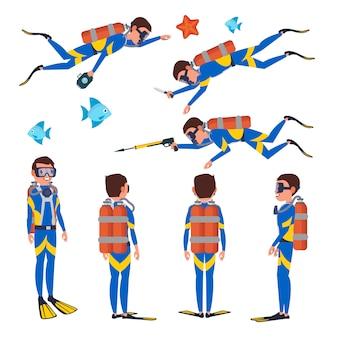 Mergulhador profissional