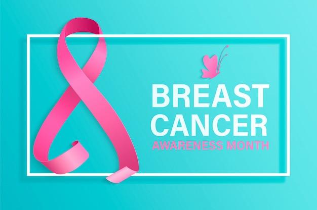 Mês de conscientização do câncer de mama.