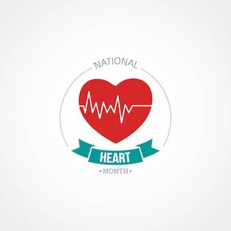 Mês nacional do coração
