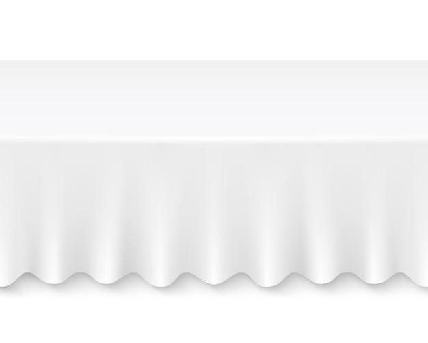 Mesa de toalha de mesa