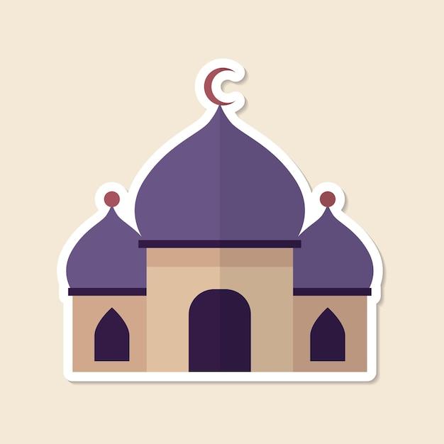 Mesquita islâmica local de culto