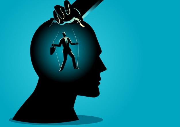 Mestre dos fantoches controla a mente