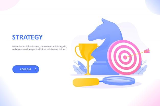 Metáfora da estratégia de negócios