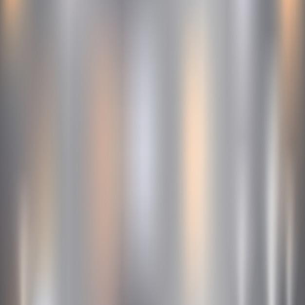 Metal, textura de aço inoxidável com reflexão