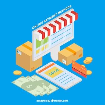 Métodos de pagamento on-line