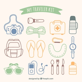 Meu kit viajante