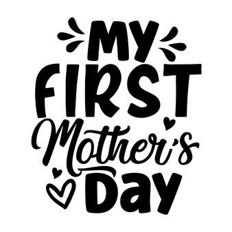 Meu primeiro desenho vetorial de tipografia para o dia das mães
