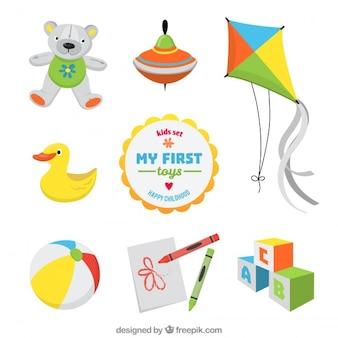 Meus primeiros brinquedos
