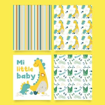 Mi little baby print