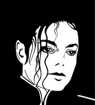 Michael jackson rosto