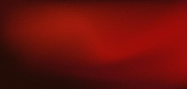 Microchip digital vermelho escuro sobre fundo de tecnologia, oi tecnologia e segurança conceito design