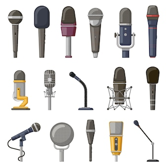 Microfone de gravação