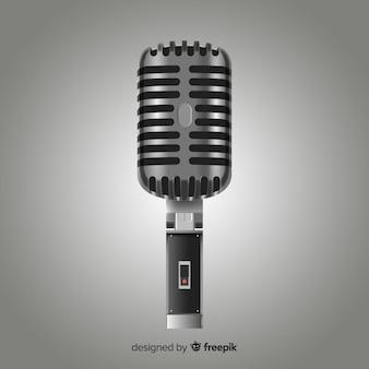 Microfone realista