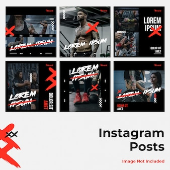 Mídia social instagram banner feroz