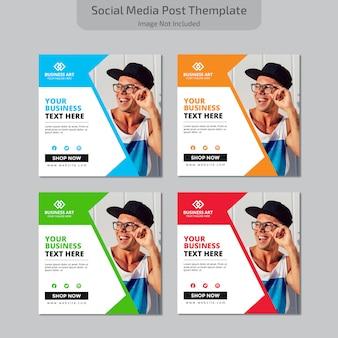 Mídia social post