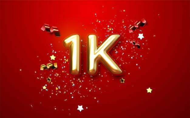Mil. obrigado seguidores fundo