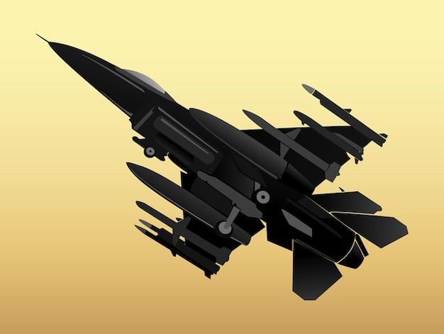 Militar pacote vetor aereo