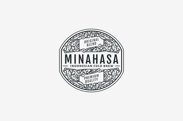 Minahasa cold brew coffee bw