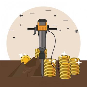 Mineração e ferramentas