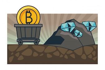 Mineração e investimento em Bitcoin