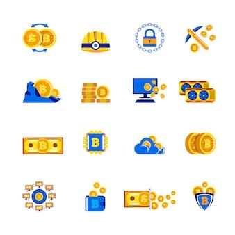 Mineração por criptomoeda bitcoin