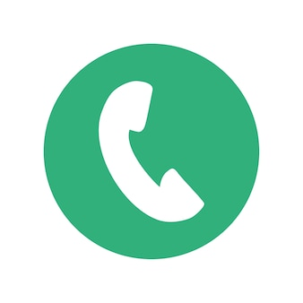 Miniatura do botão do ícone do telefone