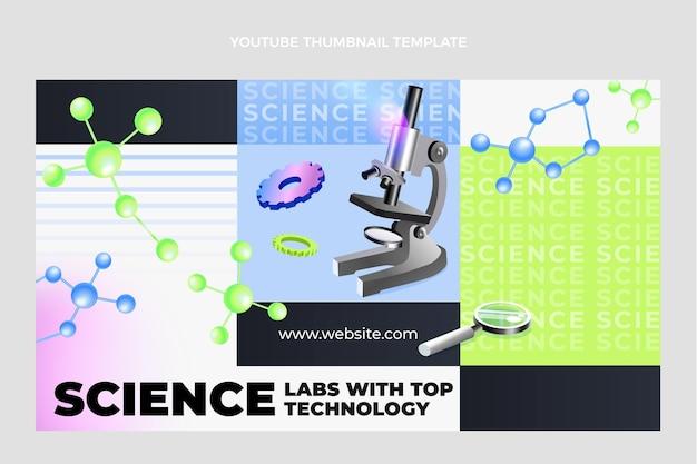 Miniatura do youtube de ciência isométrica