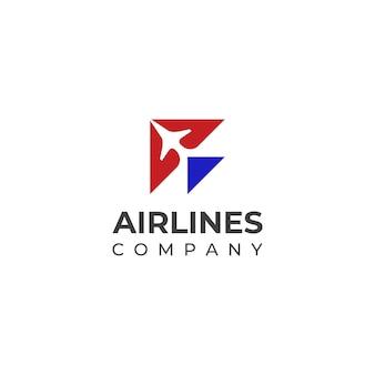 Minimal airlines airways ou logotipo do avião