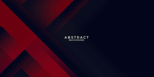 Minimalista abstrato vermelho