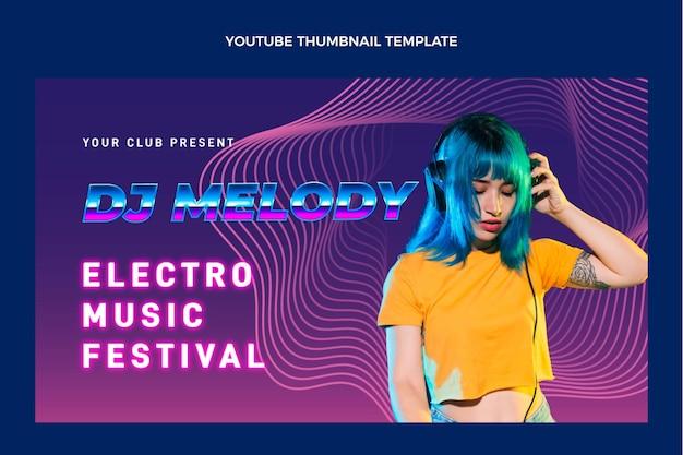 Minimalista de festival de música mínimo no youtube