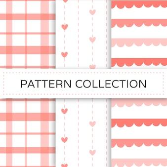 Misture a coleção padrão sem emenda.
