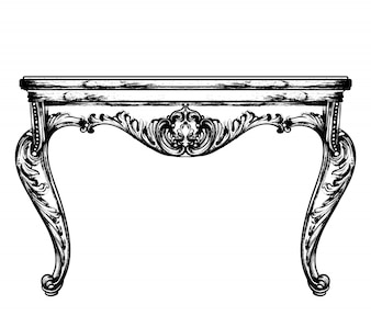 Mobiliário de mesa clássico