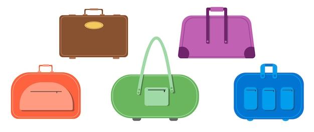 Mochilas, bolsas. mala de viagem, bagagem, estojo para viagem.