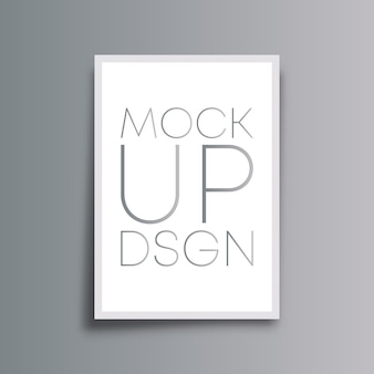 Mockup background design minimalista