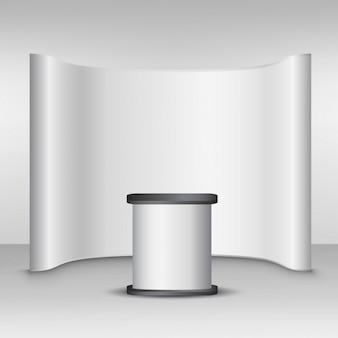 Mockup parede pop-up