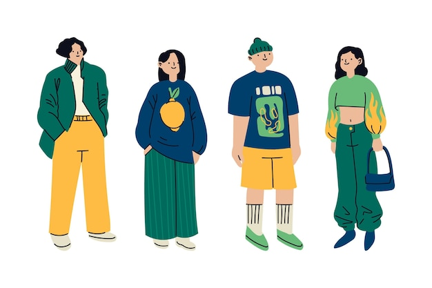 Moda jovens coreanos