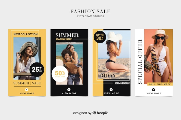 Moda venda instagram histórias collectio