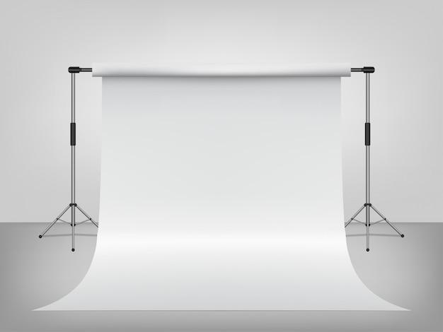 Modelo 3d para a fotografia de pano de fundo vazio de estúdio