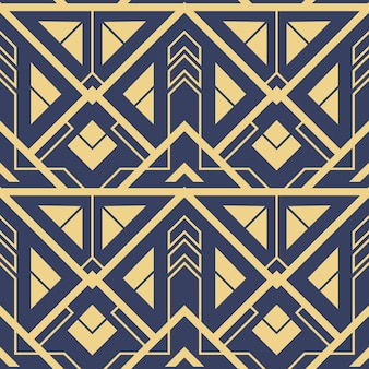 Modelo abstrato art deco azul cs6