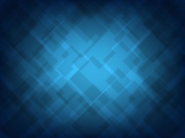 Modelo abstrato azul