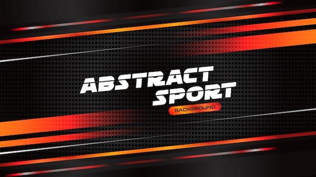 Modelo abstrato de fundo de esportes