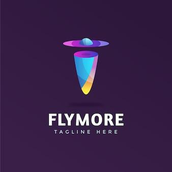 Modelo abstrato de logotipo da empresa
