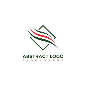 Modelo abstrato do logotipo