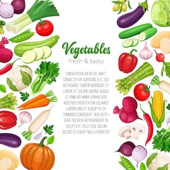 Modelo com legumes