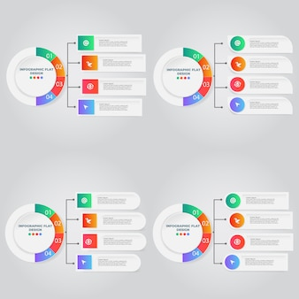 Modelo conceito criativo para infográfico